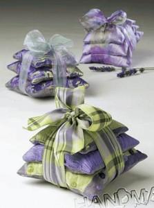Как сделать ароматическую подушечку