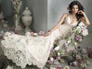 Невеста в романтическом стиле