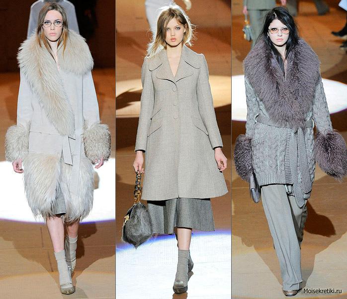 Модные зимние пальто 2010-2011