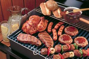 Приготовление барбекю