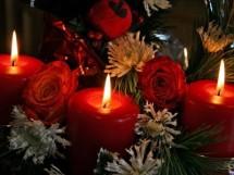 Оформление свечами