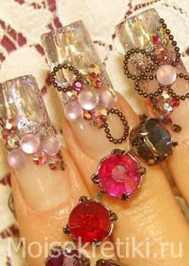 Маникюр - наращивание ногтей, дизайн