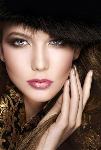 Зимний макияж 2011