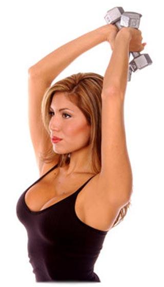 Упражнения для похудения рук женщинам
