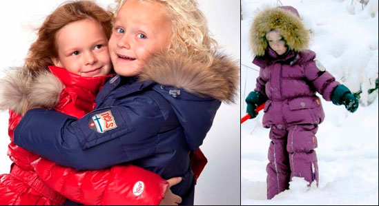 Детские куртки: пуховики