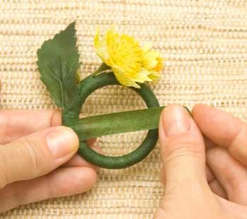 Как сделать кольца для салфеток