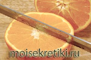 Как чистить апельсин