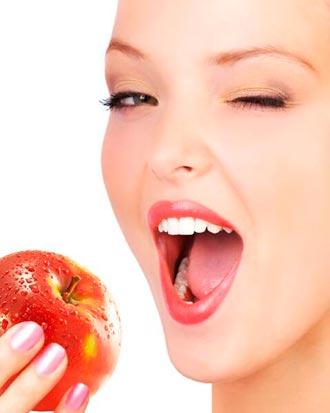 Как кушать яблоки