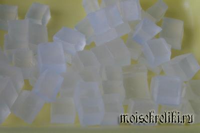 Мыло со штампом