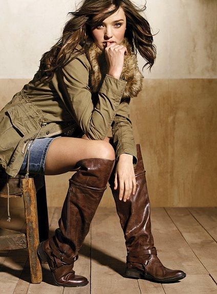 Модные сапоги: осень-зима 2012-2013