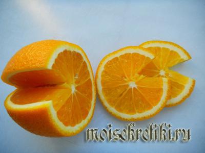 Апельсиновая ваза