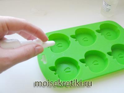 Мыло ручной работы «Кекс с яблочком»