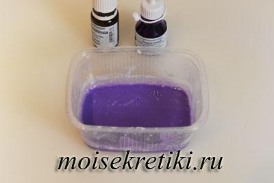 Рецепт лавандового мыла