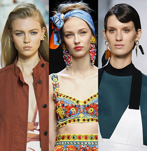 Модные серьги 2016